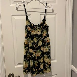 Urban Outfitters Floral Romper with Pockets.